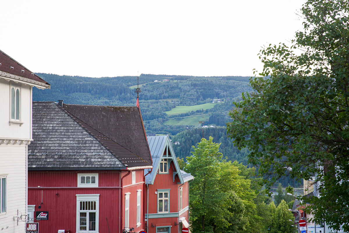 Skyline at Lillehammer